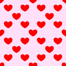 Heart Background For Valentine...