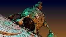 Fractal Menger Sphere