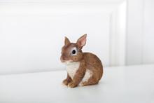 Ceramic Figurine Of Rabbit  Is...