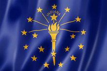 Indiana Flag, USA