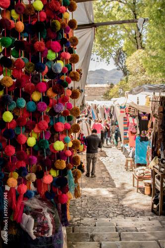 artesania san cristobal de las casas, Mexico , Oaxaca, Caribe Canvas Print