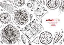 Chinese Food Menu Design Templ...