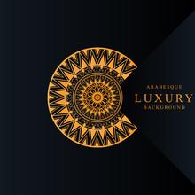 Arabesque Luxury Background Ma...