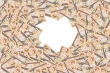 Gregorio Luperon Portrait Depicted On Old Twenty Peso Note Dominican Republic Money