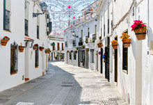 Mijas White Washed Street, Sma...