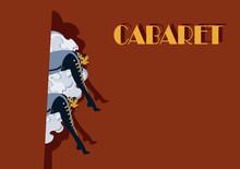 Cabaret Burlesque Dancers Back...