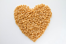 Whole Grain Oat Cereal In A He...