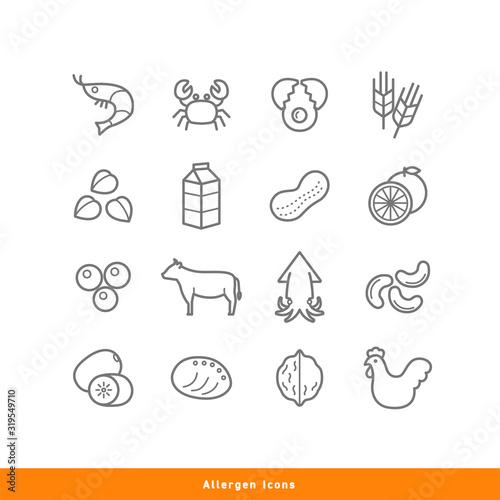 Photo Allergen Icons