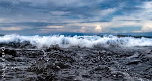 remue de la mer Canvas Print