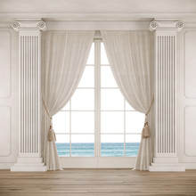 Classical Style Room With Big ...