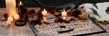 Mystic Ritual With Ouija And C...