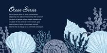 Ocean Blue Illustration Design...