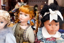 Close-Up Of Dolls