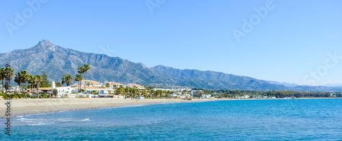 Papel de parede Rio Verde Beach in Marbella, Malaga, Spain