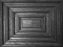 Detail On Panel Of Old Wood
