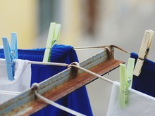 Close-Up Of Laundry And Clothe...