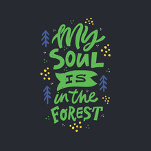 My Soul Is In Forest Color Let...
