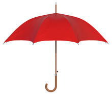 Umbrella Isolated On White Bac...