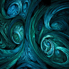 Swirly Abstract Shapes