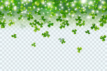 Shamrock Falling Leaves With L...