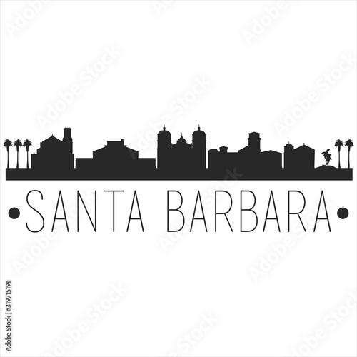 Obraz na plátně Santa Barbara California
