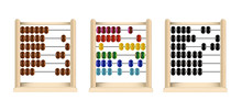 Wooden Abacus (red, Blue, Yell...