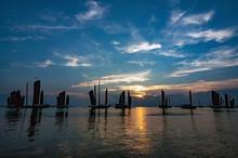 Sailing Scenery Of Hongze Lake...