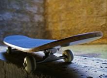 Close Up Of Skateboard