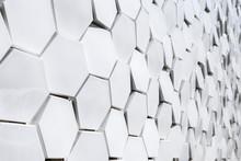 White Geometric Mosaics Of A F...