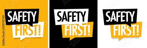 Obraz Safety first ! - fototapety do salonu