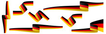 Collection Of German Country Flag Banners