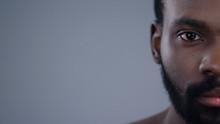 Detailed Half Face Portrait Of...
