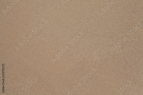 Sand Texture background. Brown sand. Background from fine sand. Canvas Print