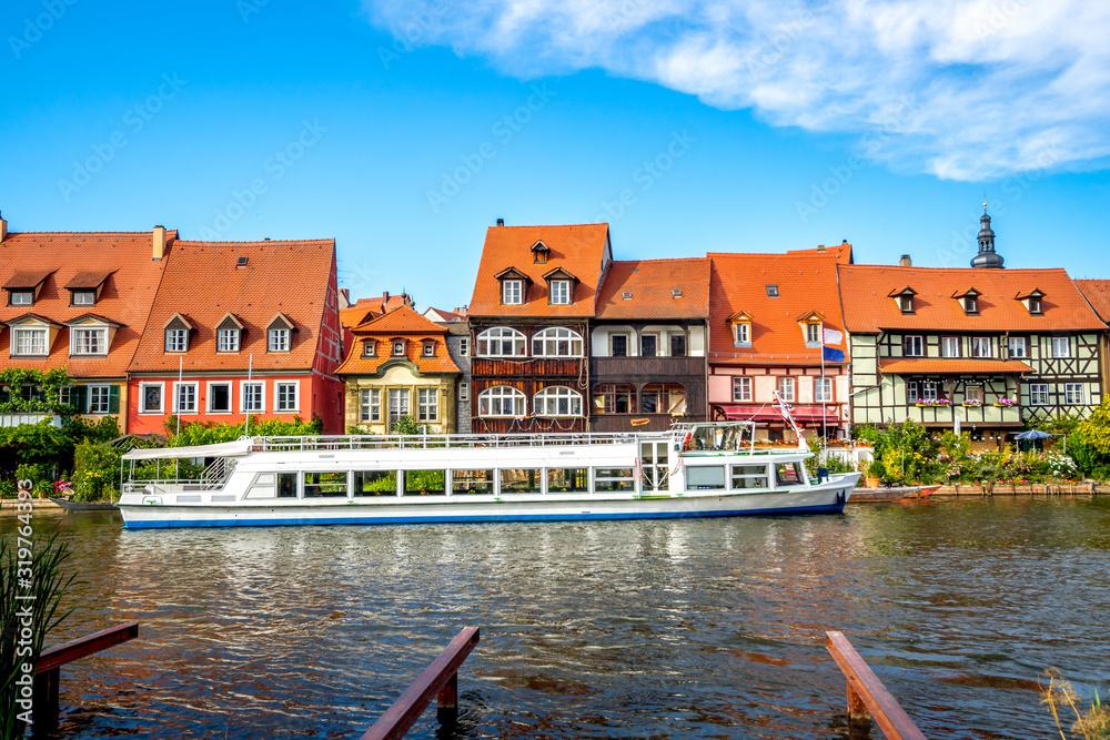 Fototapeta Klein Venedig, Bamberg, Deutschland