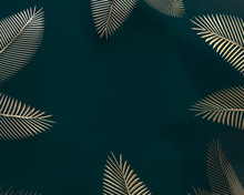 Palm Trees Leaves. Topical Jui...