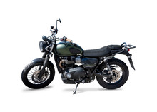 Street Scrambler Motorcycle Si...