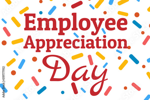 Fotografia Employee Appreciation Day concept