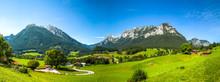 Alpen Im Berchtesgadener Land,...