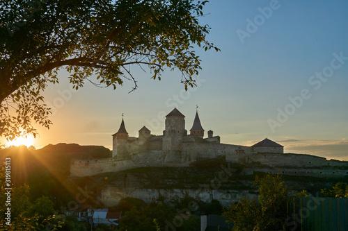 Valokuva Old fortress at sunset