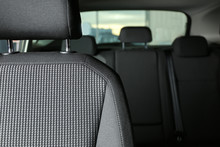 Car Seat With Grey Upholstery,...