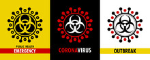 Coronavirus. Vector Set Of Dif...