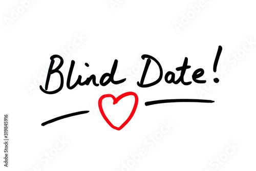 Blind Date! Wallpaper Mural