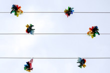 Decoration Hanging Against Clear Sky