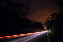 Scenery Of BR 101 Highway At D...