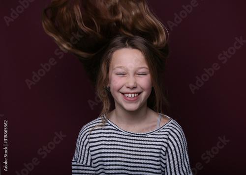 Fényképezés Beautiful young girl