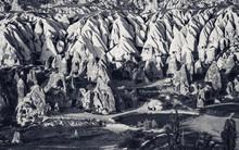 View Of Cappadocia Valley At S...