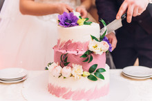 The Wedding Cake. Hands Of The...