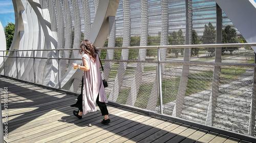 Photo The Arganzuela footbridge