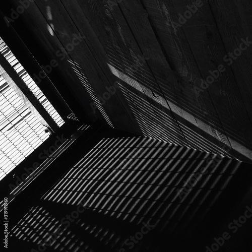 Sunlight Falling On Building Interior Fototapet