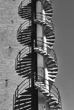 Spiral Staircase Outside Again...